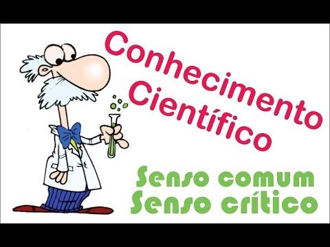 Conhecimento cientifico senso comum e senso critico Metodologia da Pesquisa Cientifica
