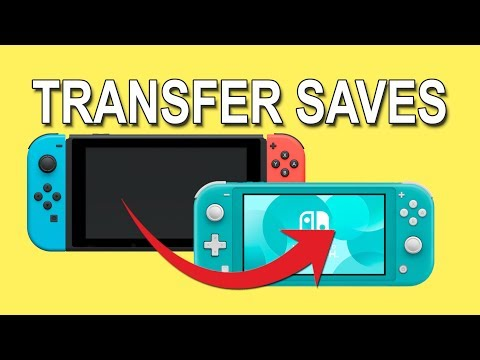 How to Transfer Save Data Between Nintendo Switch Consoles