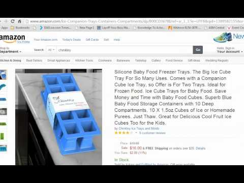 Feeding Baby Solids Parents? Try Using an Ice Cube Tray