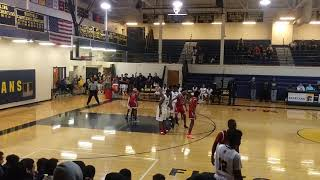 Fitzgerald High vs Lincoln High Kaleb Ross crazy buzzer beater to force overtime