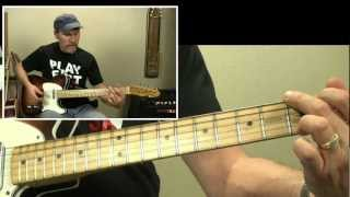 Guitar Lesson - Elvis - Guitar Man (As Played By Jerry Reed)