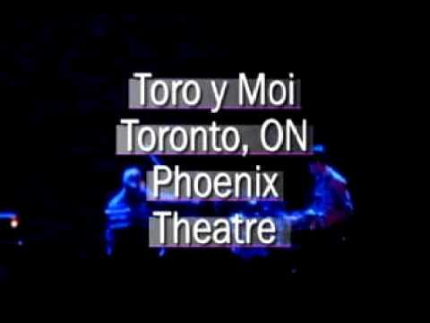 Toro y Moi - Blessa  - Toronto Phoenix Theatre