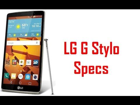LG G Stylo Specs