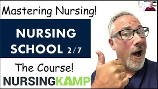 Lecture Tips fo NCLEX and Nursing School Nursing KAMP Building a Burn List of Topics BRAIN BOOK