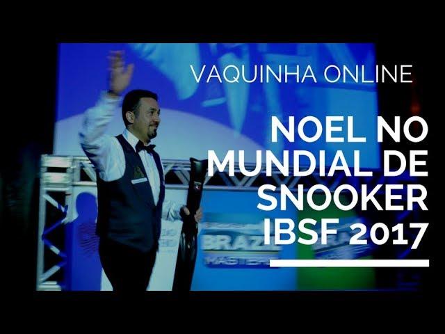 Noel no Mundial de Snooker IBSF 2017