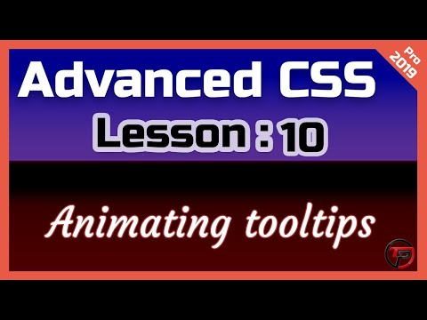 CSS Advanced Tutorial: Animating tooltips thumbnail