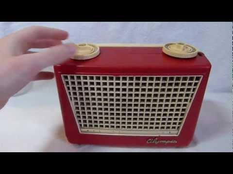 1956 Olympic model 447 transistor radio made in Long Island