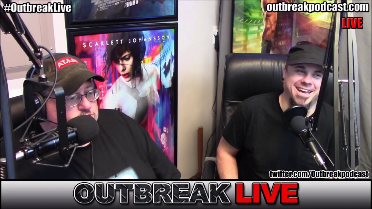 Outbreak Live! We talk Disney +, IT Chapter 2, Halloween shopping!
