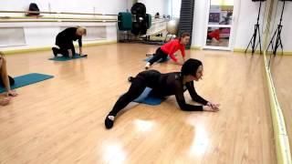 Body Ballet. Работа в партере. Часть 2