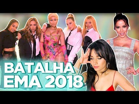 EMA 2018: LOOKS, CAMILA CABELLO RAINHA DOS MEMES, ANITTA ENTREGA PRÊMIO PRA NICKI MINAJ...| Foquinha