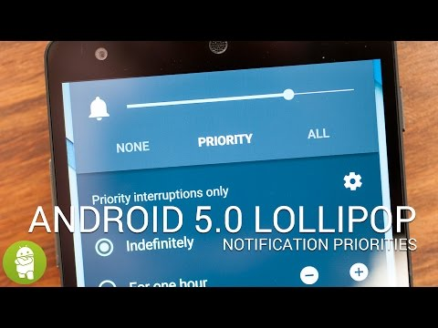 Android Lollipop notifications and do-not-disturb mode