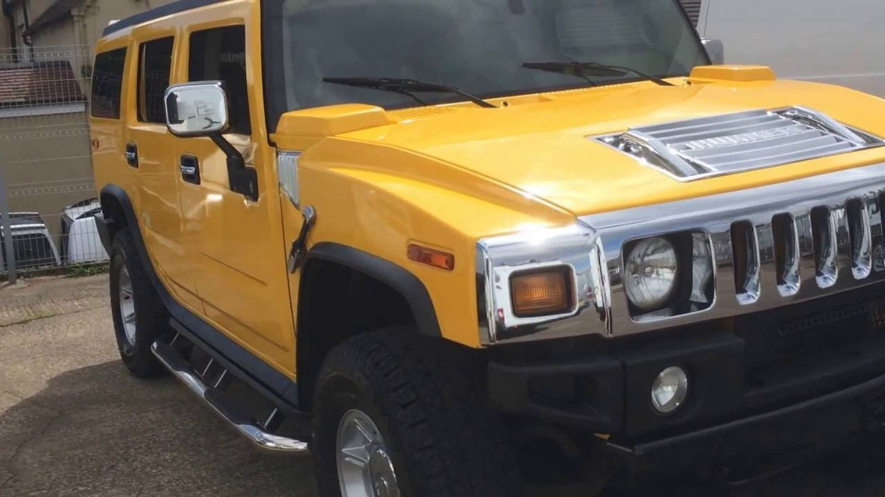 2003 hummer h2 review youtube 2003 hummer h2 review vanachro Images