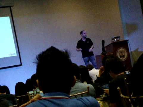 Oliver Klein, AWS Solution Architect at AWS Developer Day, Manila, PH (Part 2)