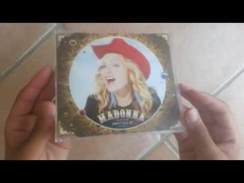 Madonna Dont Tell Me ( Cd - Single ) Unboxing