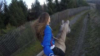 When you are free  (GoPro horse riding)