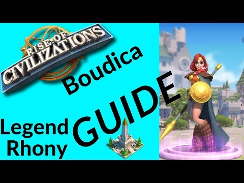 Rise of Civilizations - Commander spotlight Boudica - tip's and advice's