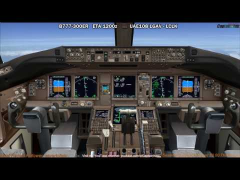 [FSX] PMDG 777-300ER | Athens (LGAV) to Larnaca (LCLK) Part 2