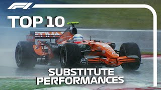 Top 10 Substitute Performances in F1