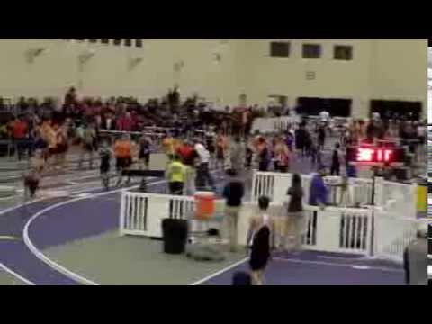2014 NCCAA Indoor Men's 4x800m