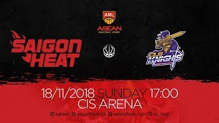 ABL9  || Home Game 1: Saigon Heat vs CLS Knights 18/11 | Full Game Replay