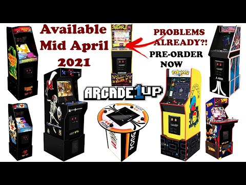 PROS & CONS - Arcade1UP 2021 Cabinets - Plus Where You Can Pre-Order Them Now from Harrison Hacks
