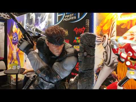 Metal Gear Solid - Solid Snake by First 4 Figures @ NYCC 2017 - RaddTitan