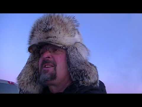 Ice fishing Lake Winnipeg , trips 1 , 2 , + 3