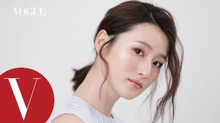 髮型教學:浪漫韓妞低馬尾  | 3分鐘就美麗 |  Vogue Taiwan