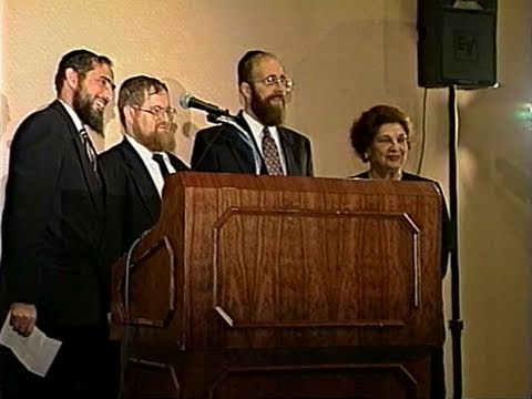 Rabbi Chait Speaking at 12th Annual Dinner in Honor of Mrs. Sisel Klurman