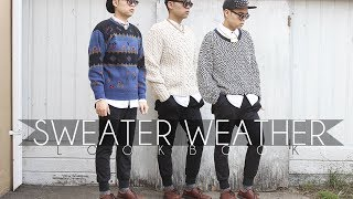 Sweater Weather Lookbook! Thumbnail