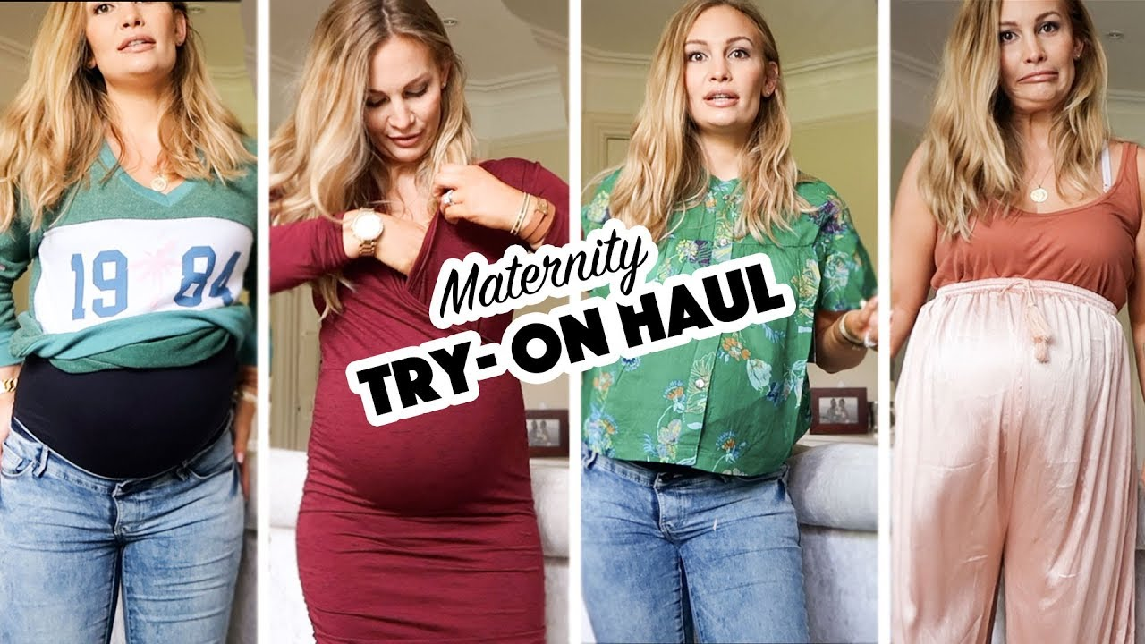 f2ad77c44e6f3 Maternity Fashion Try-On Haul | ASOS - YouTube