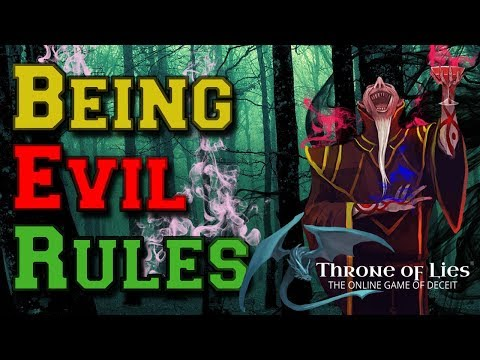 BEING EVIL RULES! | Throne of Lies Gameplay Video