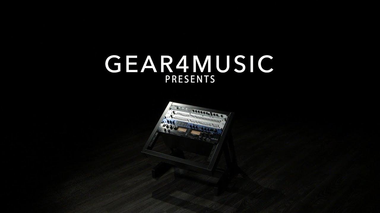19 8u studio rack stand by gear4music