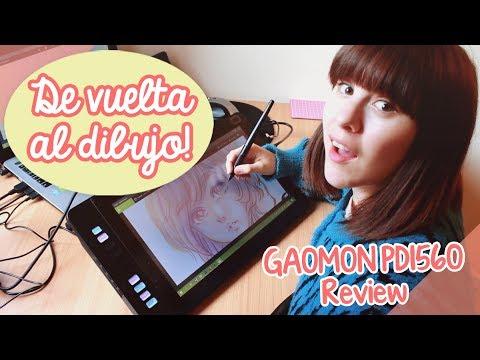 DE VUELTA AL DIBUJO! 😄 / Pen Tablet Display GAOMON PD1560