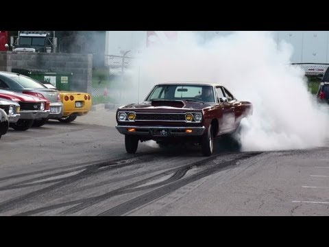 "1968 1000hp Hemi Roadrunner Burnout ""Rat Poison"" GODFATHER Racing MORE HEMI'S"