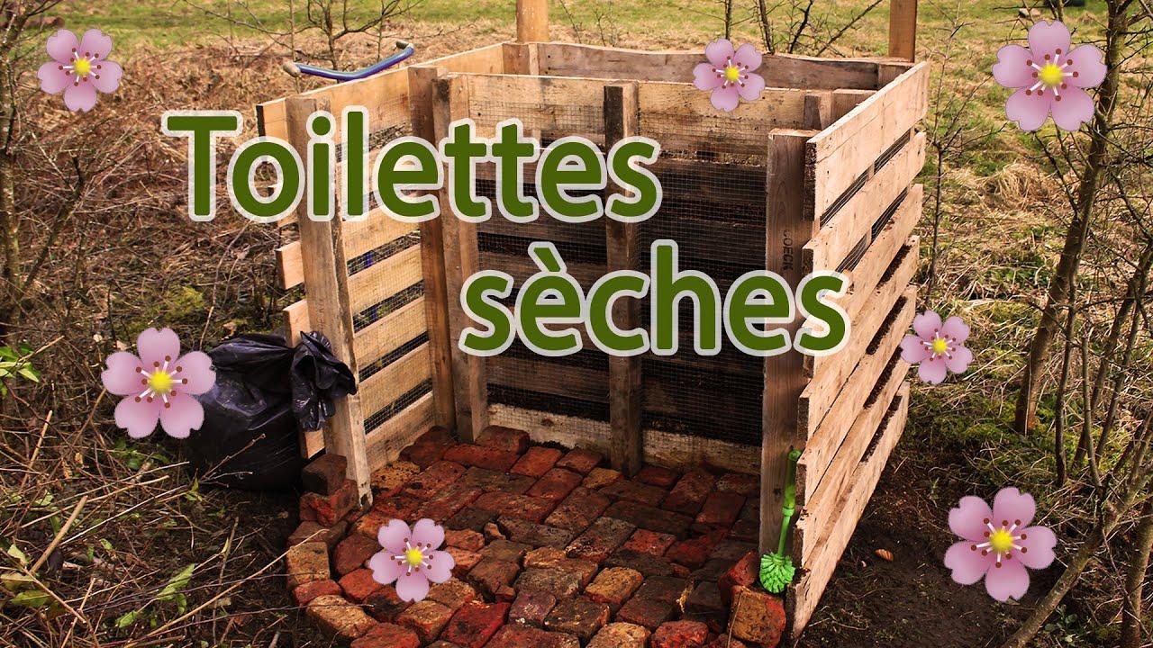 Fabriquer Un Composteur Avec Des Palettes compost pour toilettes sèches à partir de palettes