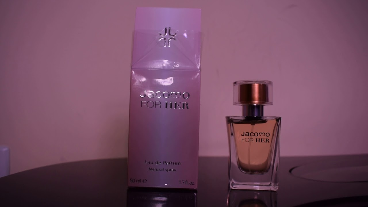 e5e14e3297 Perfume Jacomo For Her - YouTube
