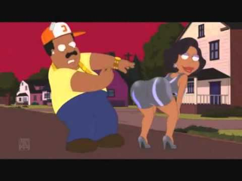 Family guy's Cleveland as Rick Ross - I'm a Boss