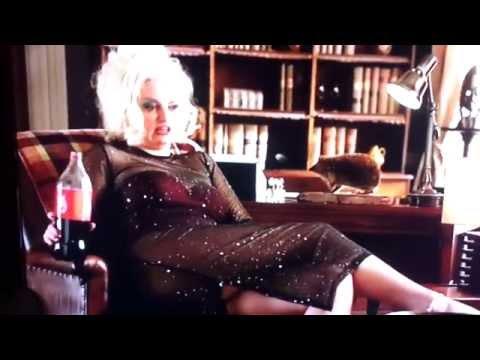 Morgana Robinson as Anna Nicole Smith burp