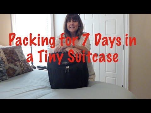Pack for 7 Days in a TINY BAG~Spirit Airlines