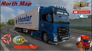 Euro Truck Simulator 2 (1.36)   Fruehauf Iceliner Ownable Trailer Ford F-Max v1.5 Full Mods Road to Molde Norway North map v1.8 by Zaregon Scandinavia DLC by SCS Software abasstreppas Hella Lamp Pack 2.0.1 + DLC's & Mods  Support me please thanks Support