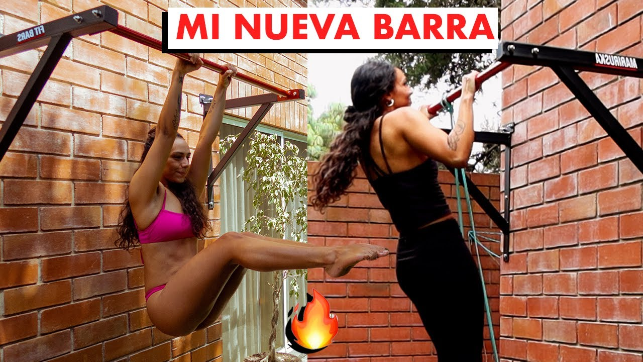 500 Saltos, 50 Pull Ups, 50 Push Ups Rutina Con Mi Barra Nueva