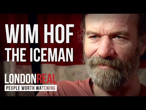 Wim Hof - The Iceman - PART 1/2 | London Real