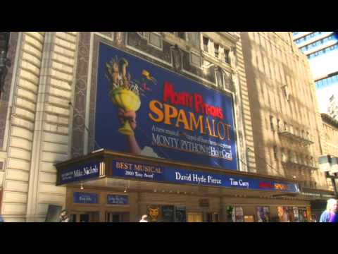 Shubert Theater Broadway during the Monty Python