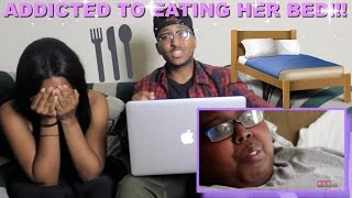 Couple Reacts : What Happens When You Eat 8 Beds Reaction!!!