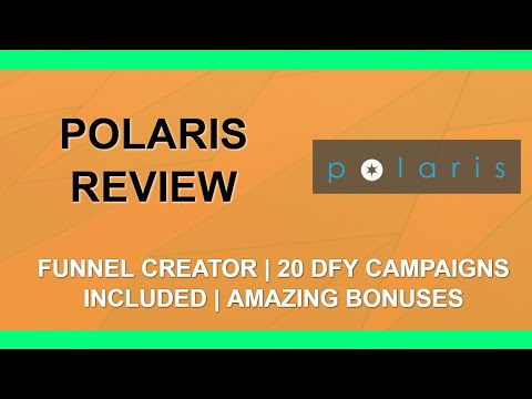 Polaris Review | Clickbank Campaigns | Amazing Bonuses 👉 thumbnail