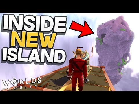 Worlds Adrift - INSIDE A BRAND NEW ISLAND! New World & More Knowledge! - Worlds Adrift Beta Gameplay