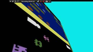 Jitter textures .   Atari game texture in 3D shape.   Frogger and Solaris
