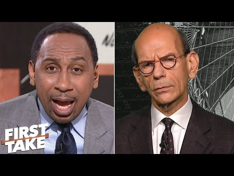 Stephen A., Paul Finebaum debate Georgia being left out of College Football Playoff | First Take