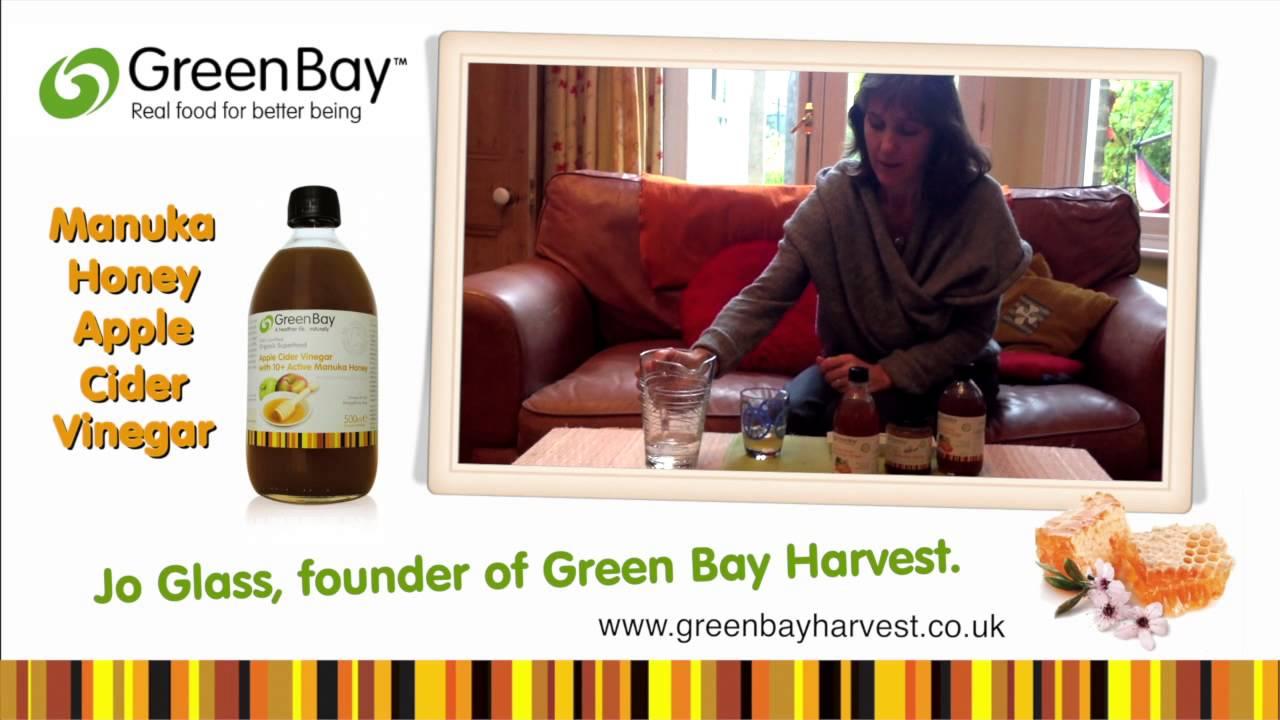 Green bay harvest benefits of manuka honey with raw apple cider vinegar jo glass youtube - Benefits of manuka honey the natural antibiotic ...